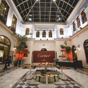 Cartier en el Real Casino